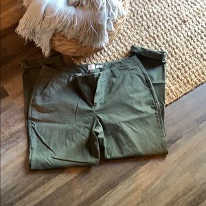 A.n.d. Eawy from target green chinos